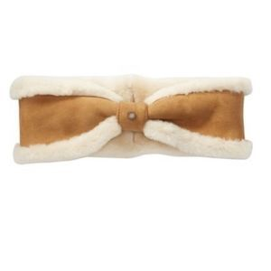NWT UGG Genuine Sheepskin Bow Headband